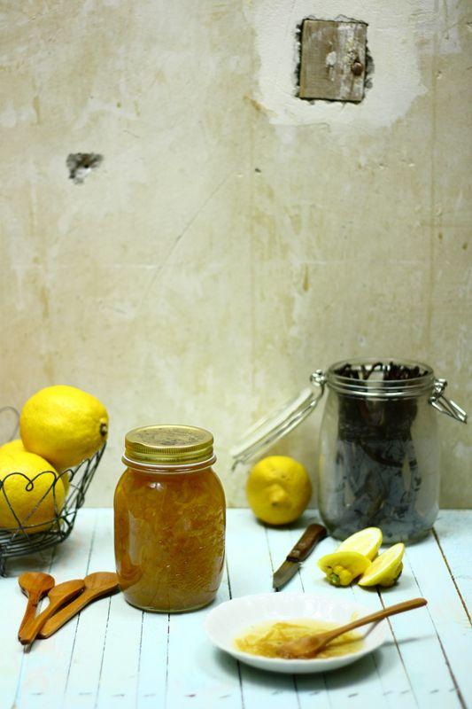 Vaníliás citromlekvár