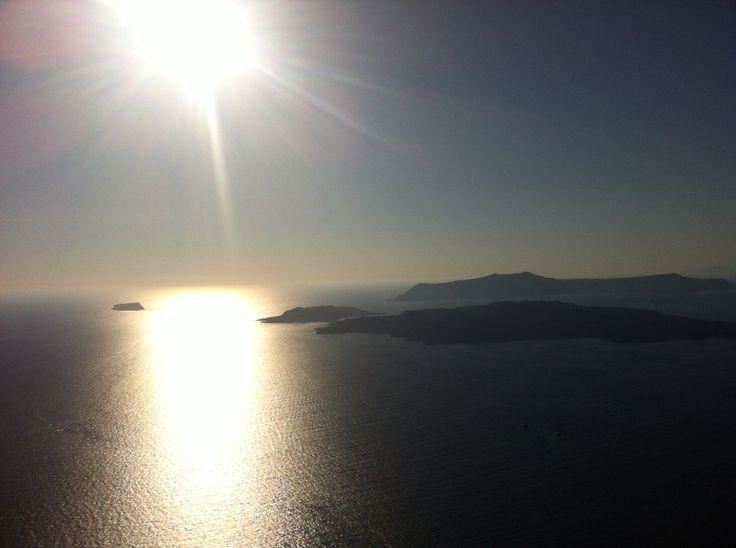 Santorini sunset August15 2014