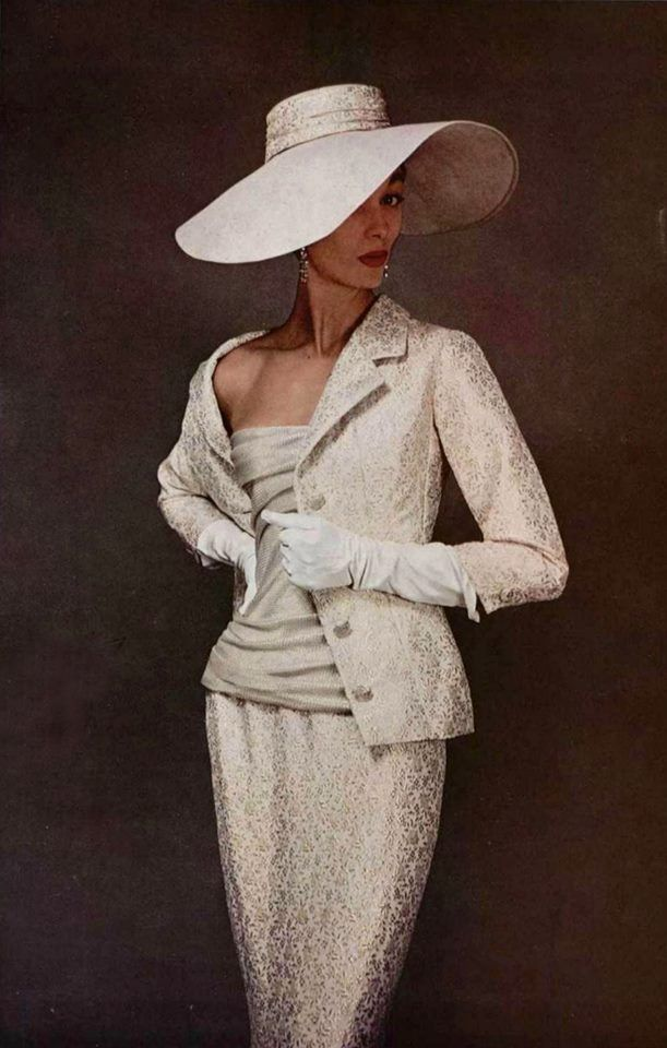 1955 Dior Haute Couture (no original source :(