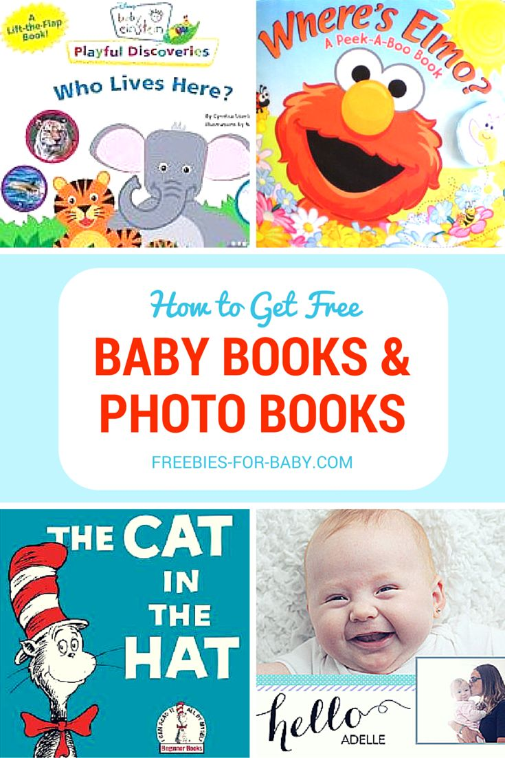 Get free baby books from Dr. Seuss, Baby Einstein, Elmo, more.  Create free custom Photo Books for baby too!  Go to => http://freebies-for-baby.com/4040/free-baby-books-baby-book-clubs/ #FreeBabyBook #BabyBooks