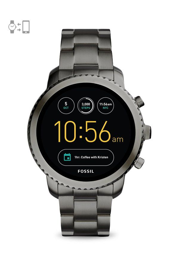 Fossil Ftw4001 Q Explorist Gen 3 Smartwatch For Men Fossil Watches Smart Watch Swiss Army Watches