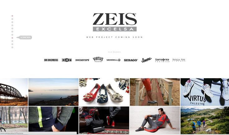 In attesa del nuovo Website della Zeis Excelsa un Coming Soon speciale http://www.zeisexcelsa.it/ | Art Direction & Design by AWD AGENCY