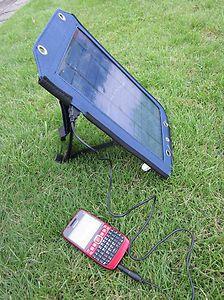 Saubere Öko-Energie gratis von der Sonne für ihr Handy Smartphone oder Digicam !Für jeden mobilen Fotographen wichtig ! Gratis Sonnenstrom für ihre Digicam !