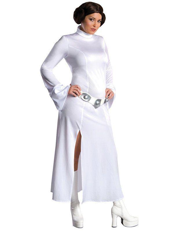 Womens Plus Size Princess Leia Costume Plus Size Halloween
