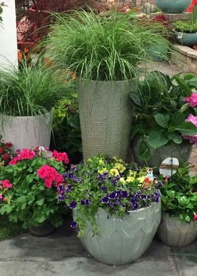 Create a garden with containers to fill a corner of your outdoor space. Check out ourtop tips for containers gardening at The Home Depot's Garden Club.