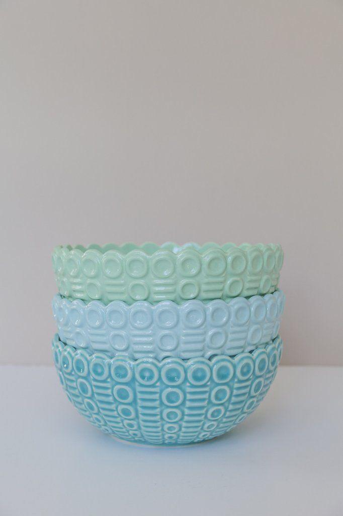 Confetti Bowls by Rachel Carley Ceramics. Image: Delena Nathuran Photgraphy.