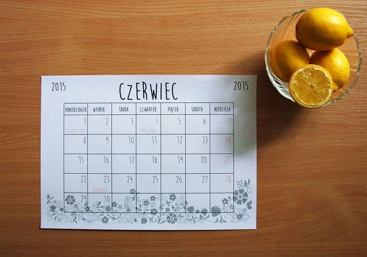 Kartka z kalendarza: czerwiec 2015 - What a mess!