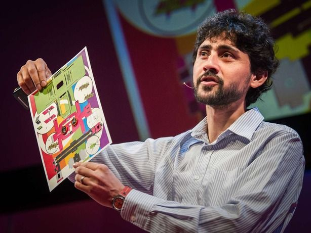 Incredible out of the box thinking! What took us so long.Manu Prakash: A 50-cent microscope that folds like origami | Talk Video | TED