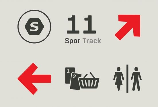 Kontrapunkt - Public transport collaboration. It's easy to lose your way with busses, trains and metro signs all screaming at you. We created a new signage system so intuitive that you instantly know which service to take. Go find your way.