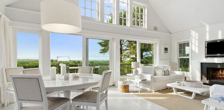 HAMPTONS RENTALS. AMAGANSETT (SLEEPS 6) Charming sun-beaten shingles on the outside, luxe all-white furnishings on the inside.