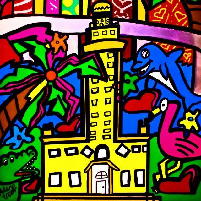 Miami South Beach Pop Art