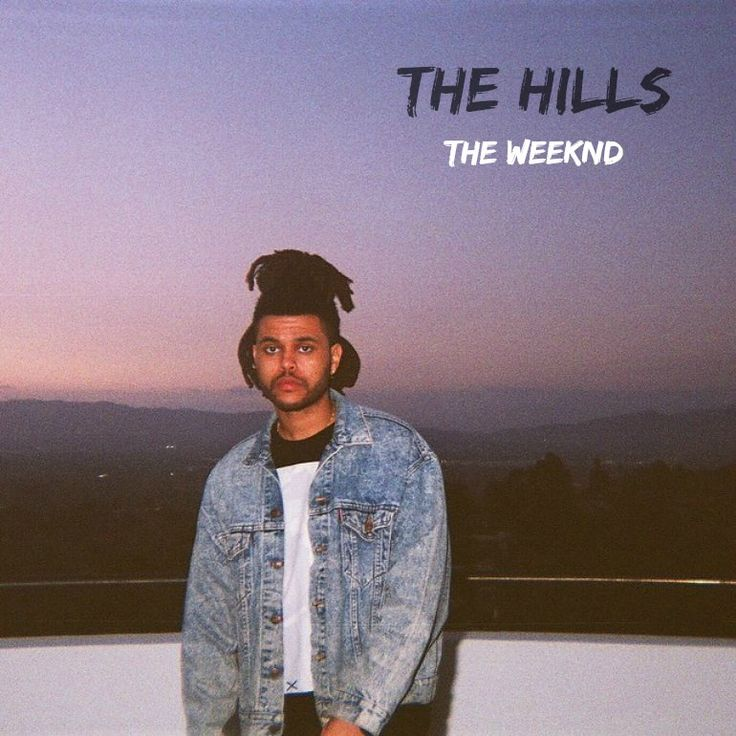 The hills - album cover ♡ (fait par moi)