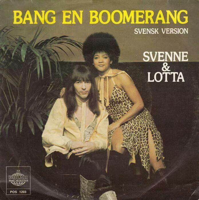 From Sweden,  Svenne & Lotta.