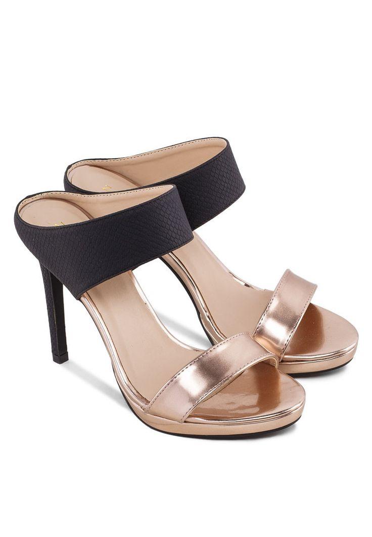 Zalora High Heel Mule Sandals www.zalora.com.ph