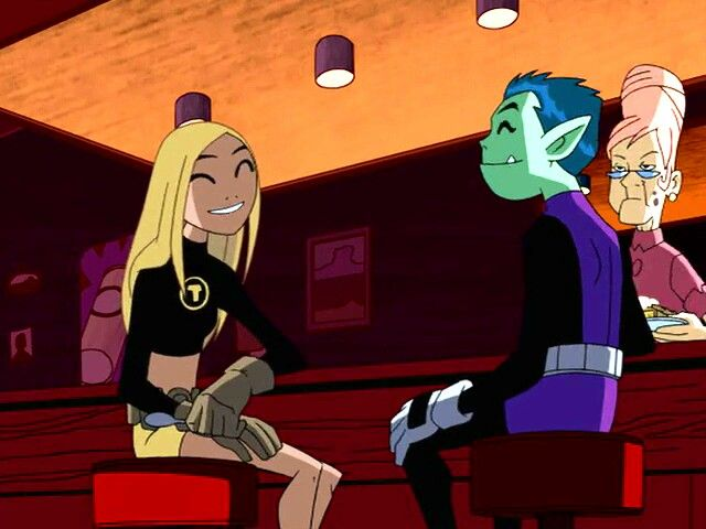 Beastboy and Terra