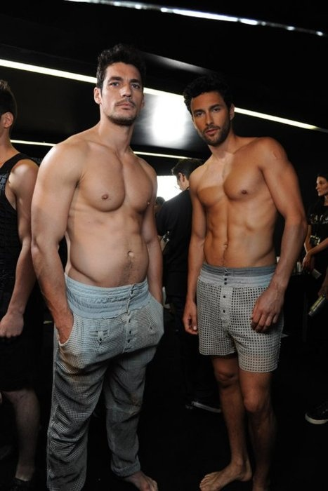 Men Fashion Show Backstage SUMMER FASHION SHOW