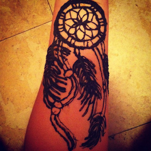 Dream catcher henna tattoo! | So CUTE! | Pinterest ...