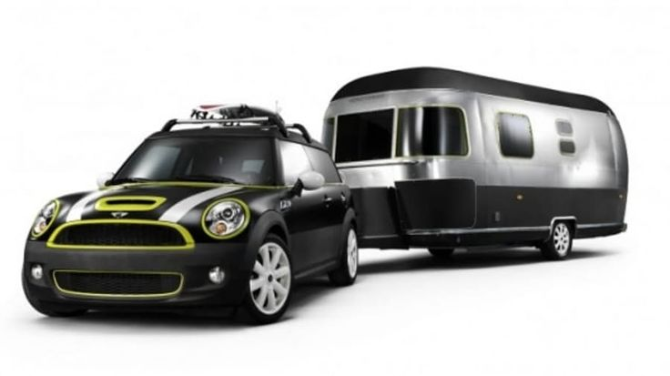 A collaboration between MINI, Airstream trailers and Danish furniture designers Republic of Fritz Hansen has resulted in this beach-ready design study made up of a modified MINI Cooper S Clubman and a customized 6.8m long Airstream trailer.