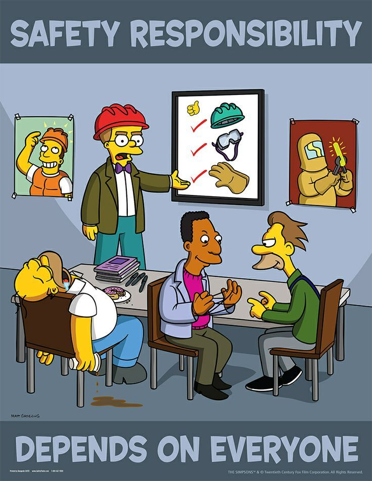 funny homer simpson at work Google Search Safety