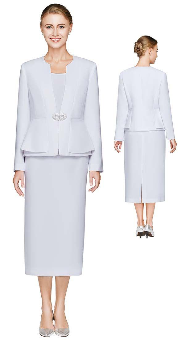 Nina Massini 2461 Womens Skirt Suit With…