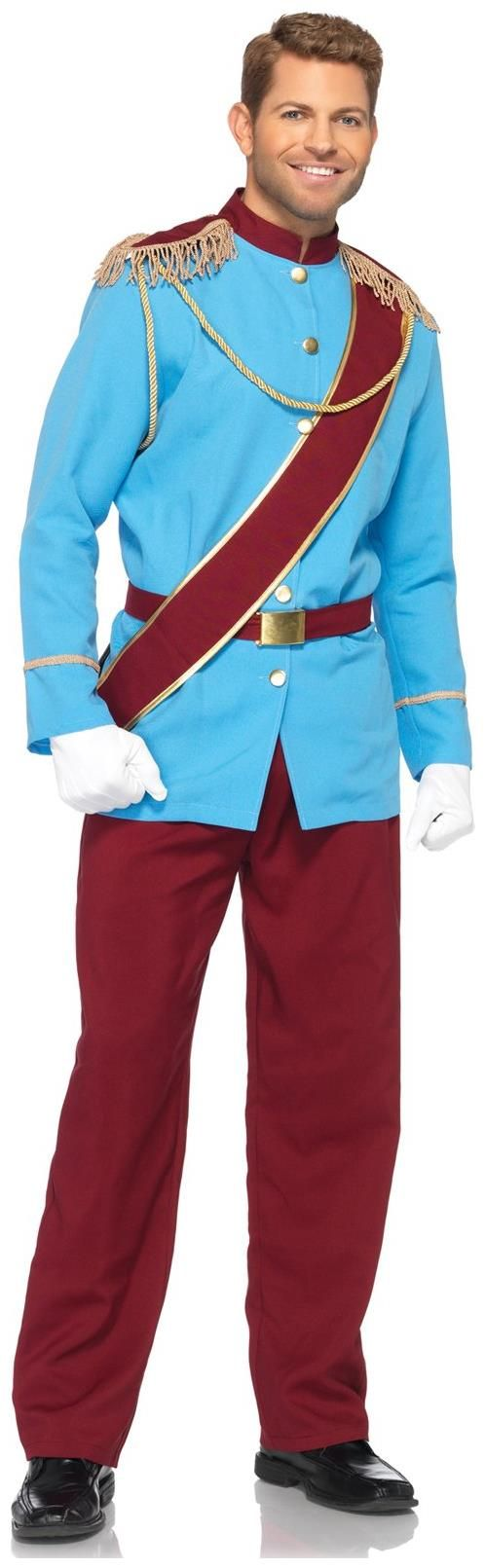 Best 25 disney prince costume ideas on pinterest prince adult blue and red prince charming costume solutioingenieria Images