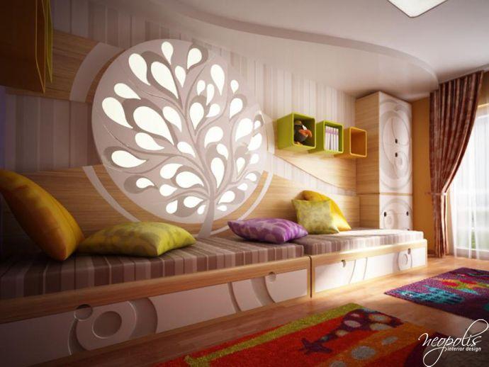 Детская спальня от Neopolis Interior Design на Readmas.ru