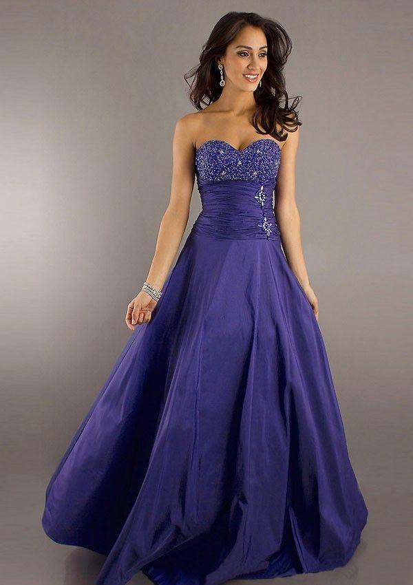 Princess-Linie Taft Abendkleid Regency
