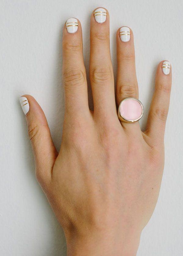 Skinny stripes (+ love the ring!)