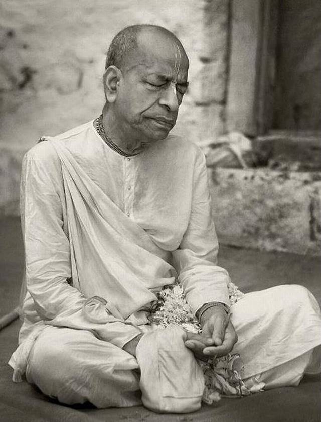 Today is the most auspicious appearance day of His Divine Grace A.C. Bhaktivedanta Swami, who brought the entire treasure house of Vedic literatures to the west for our benefit. His mercy is all I am made of. Jaya most glorious, amazing Srila Prabhupada!