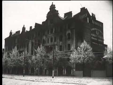 №9-1 5.09.1941 Выборг. Захват. Флаг поднят на башню замка. Парад - YouTube