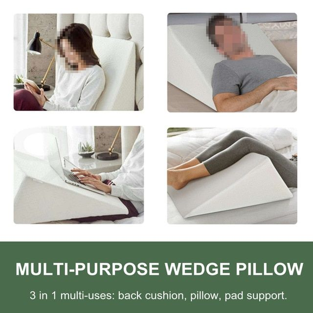 Knee Wedge Pillow Sleep Foam Life