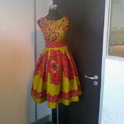 Dress by Solanga Fashion Creations | Africanigasm ...
