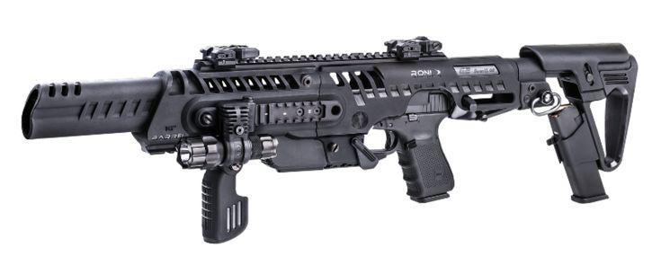 "CAA RONI® Civilian Pistol Carbine Conversion with 16"" Barrel - http://www.gunproplus.com/caa-roni-civilian-pistol-carbine-conversion-with-16-barrel/"