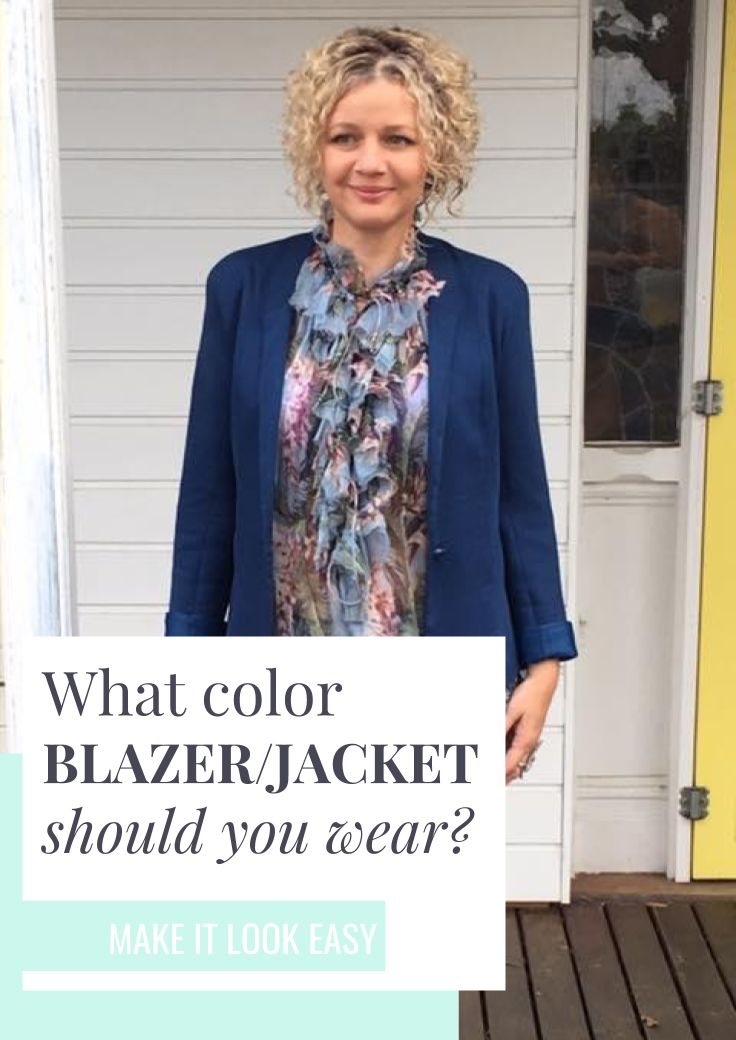 Choosing the correct blazer color can have a HUGE effect on the feel of your outfit. By choosing a blazer that matches the feel of your outfit (casual vs. powerful), you will be setting a statement. Check out this blazer guide to make sure you're making smart choices when shopping. Don't forget to save these fashion tips to your fashion board so you can find them later.
