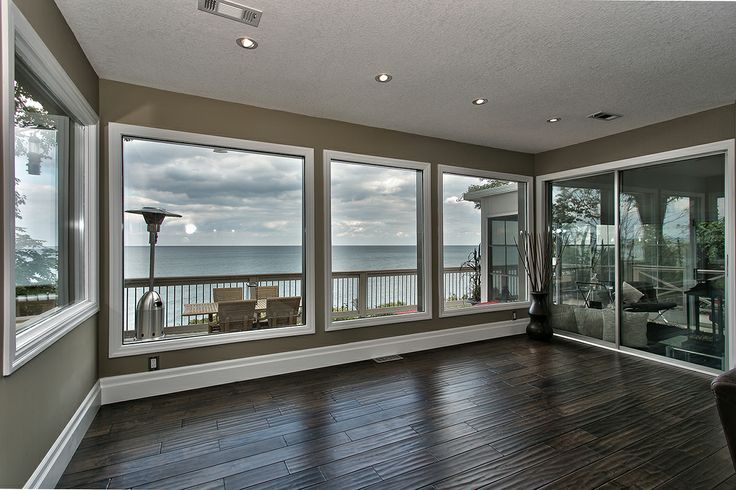 Large Open Windows with Lake Views!