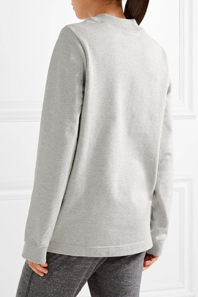 Nike - Nikelab Essentials French Stretch-cotton Terry Sweatshirt - Light gray - x large