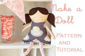 Doll pattern & tutorial