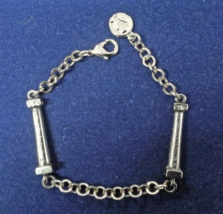 Templum silver bracelet. Mirko Clementi Colossevm Collection