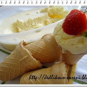 domácí zmrzlina