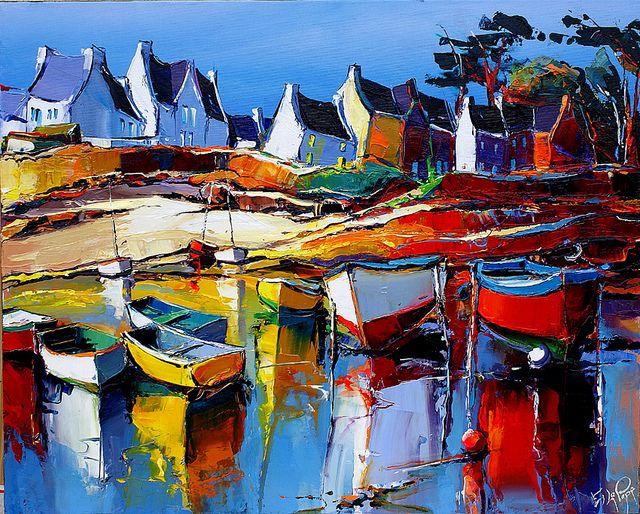 Bien connu 177 best acrylic & aquarelle - ambiance Bretagne images on  WG06