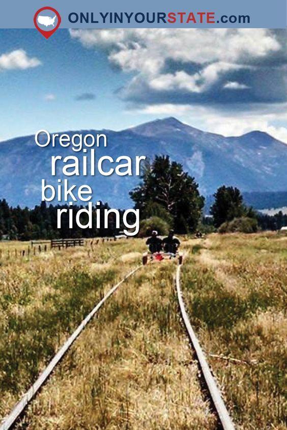 Travel | Oregon | Attractions | Sites | Unique | Places To Go | Railcar | Bike | Bike Riding | Unique Activities