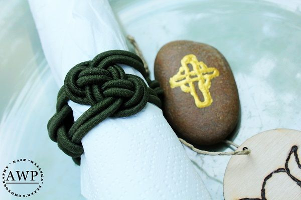 celtic knot napkin ring