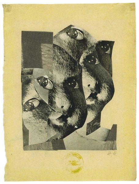 Hannah Hoch, Broken, 1925. Photomontage