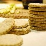 These little biscuits are delicious with your favourite cheese and chutney! Great for a little Scottish gathering!