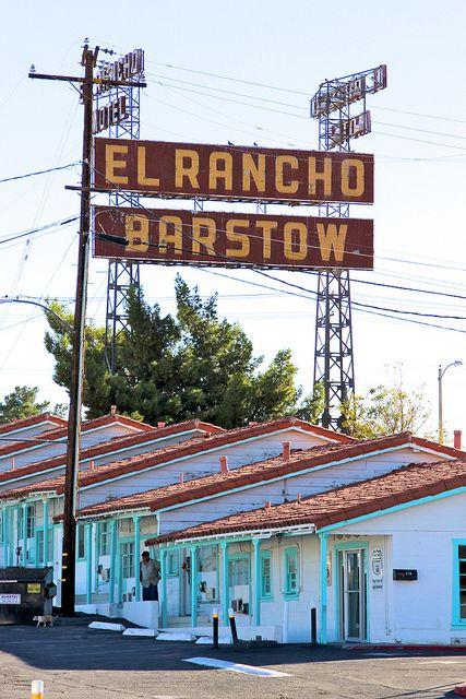 El Rancho Motor Motel Route 66 Barstow California