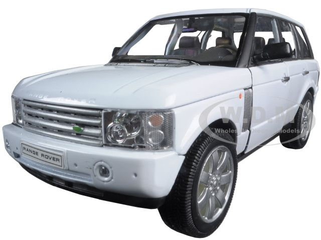 diecastmodelswholesale - 2003 Land Rover Range Rover White 1/24 Diecast Model Car by Welly, $14.49 (http://www.diecastmodelswholesale.com/2003-land-rover-range-rover-white-1-24-diecast-model-car-by-welly/)