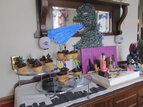 Godzilla Birthday Party Ideas | Photo 5 of 57 | Catch My Party