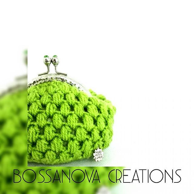 #bossanovacreations #bag #handmade #hechoamano #crochet #crochetaddict #crochetbag #crocheting #picoftheday #photooftheday #loveit #knitting #knit #knittersofinstagram #ganchillo #beautiful #coinpurse
