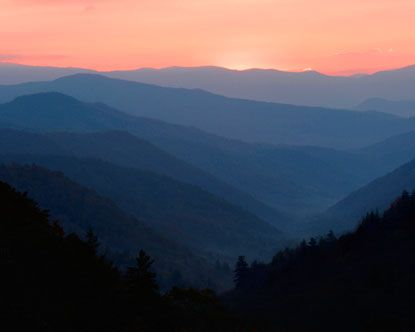 My favorite mountains...the Smoky Mountains