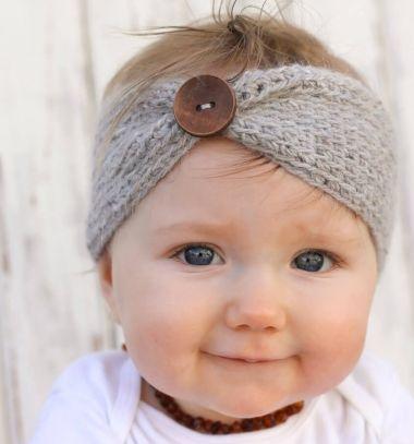 Cozy crochet headband with button (free crochet pattern) // Horgolt meleg fejpántok gombokkal  // Mindy - craft tutorial collection //